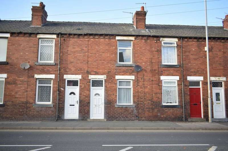 2 Bedrooms Terraced House for sale in Weeland Road, Sharlston Common, Wakefield