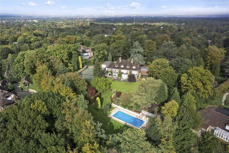 7 Bedrooms Detached House for sale in Old Avenue, St. George's Hill, Weybridge, Surrey, KT13