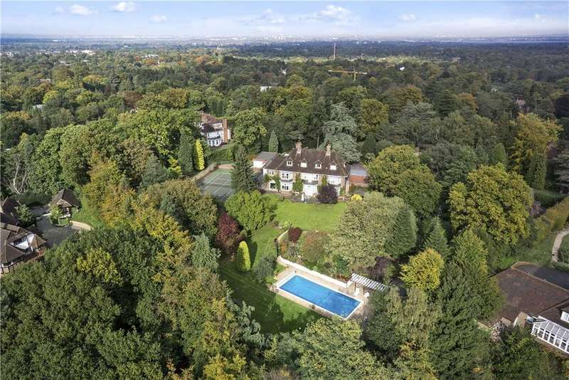 7 Bedrooms Plot Commercial for sale in Old Avenue, St George's Hill, Weybridge, Surrey, KT13