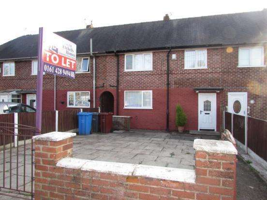 3 Bedrooms Terraced House for rent in Sale Road, Manchester