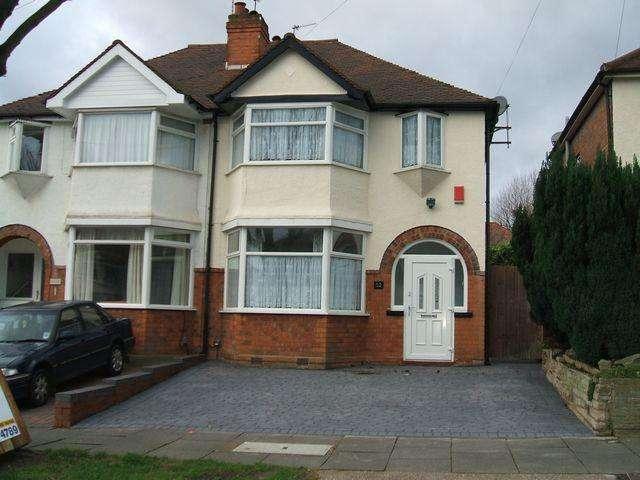 3 Bedrooms Semi Detached House for rent in Blakeland Road, Great Barr, Birmingham, B44