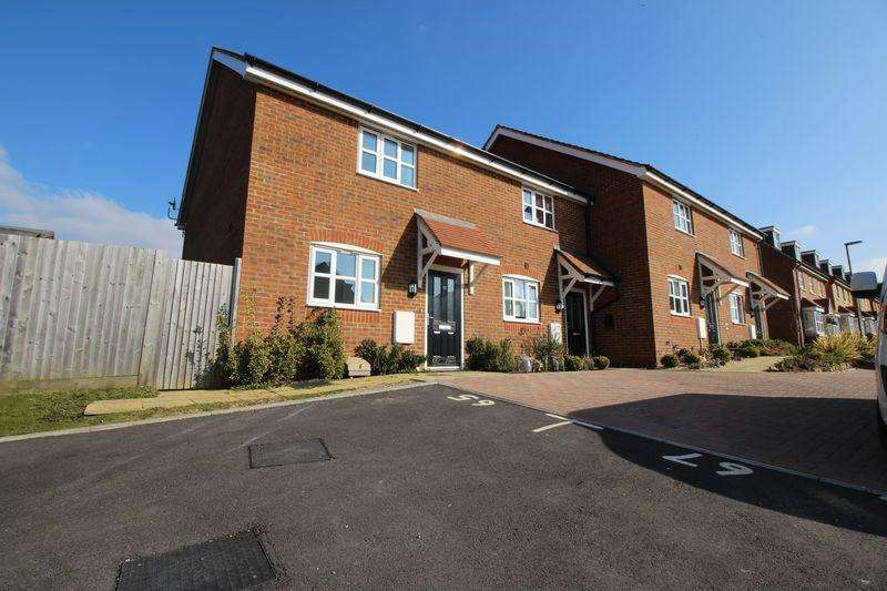 2 Bedrooms Terraced House for sale in Larkspur Drive, Burgess Hill
