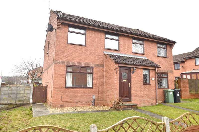 3 Bedrooms Semi Detached House for sale in Dawsons Corner, Stanningley, Pudsey, West Yorkshire