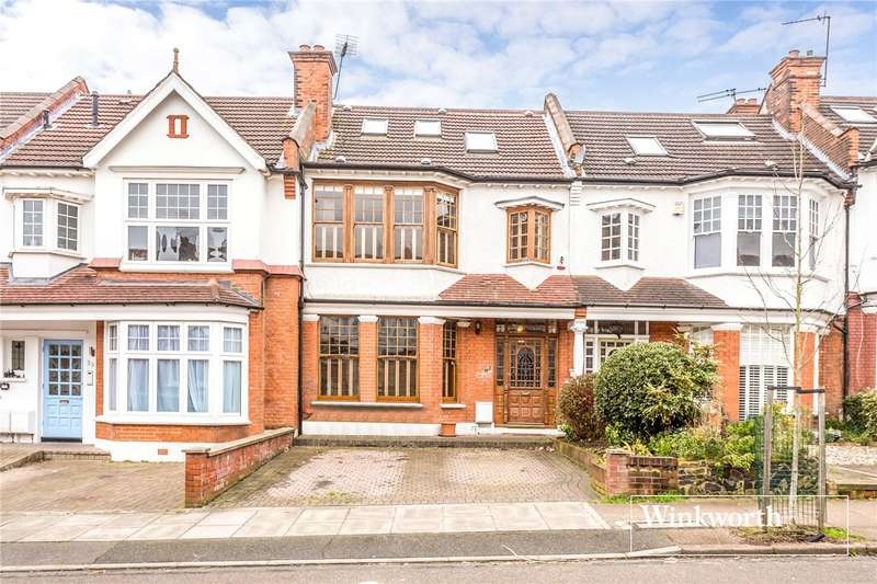 5 Bedrooms Terraced House for sale in Woodlands Avenue, Finchley, London, N3