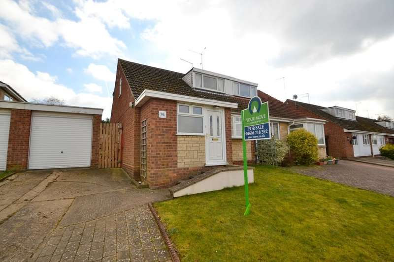 4 Bedrooms Semi Detached House for sale in Sherwood Avenue, Spring Park, Northampton, NN2