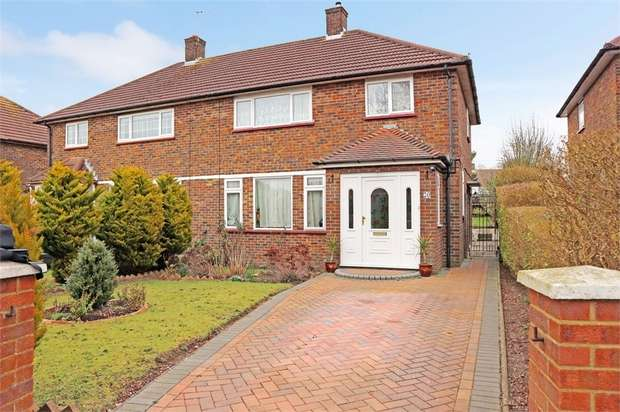 3 Bedrooms Semi Detached House for sale in Thirsk Road, Borehamwood, Hertfordshire