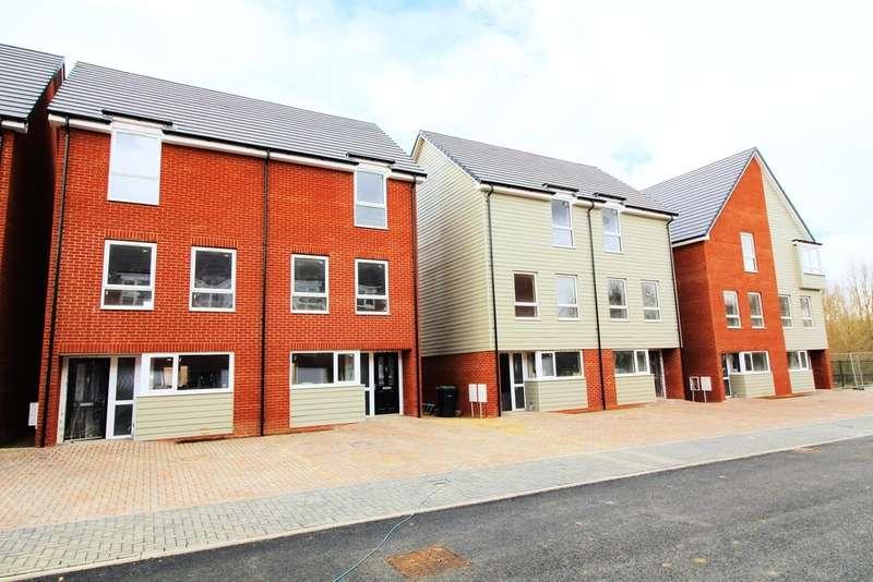 4 Bedrooms Semi Detached House for sale in Plot 9 'Austin Mews', Austin Canons, Kempston, MK42