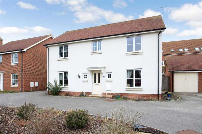 4 Bedrooms Detached House for sale in Century Drive, Grange Farm, Kesgrave, Ipswich