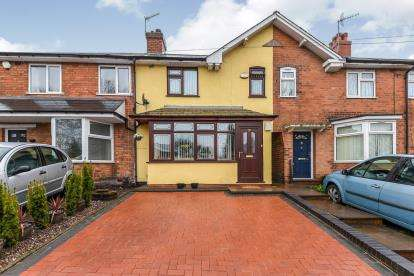 3 Bedrooms Terraced House for sale in St. Heliers Road, Northfield, Birmingham, West Midlands