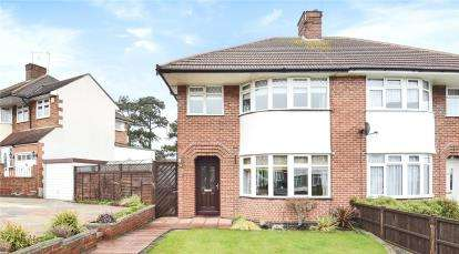 3 Bedrooms Semi Detached House for sale in Borkwood Way, Orpington
