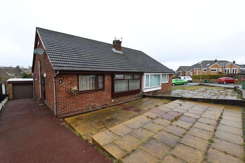 2 Bedrooms Semi Detached Bungalow for sale in Foxdale Grove, Preston, Lancashire