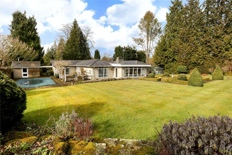 4 Bedrooms Detached Bungalow for sale in Guildford Road, Shamley Green, Guildford, Surrey, GU5