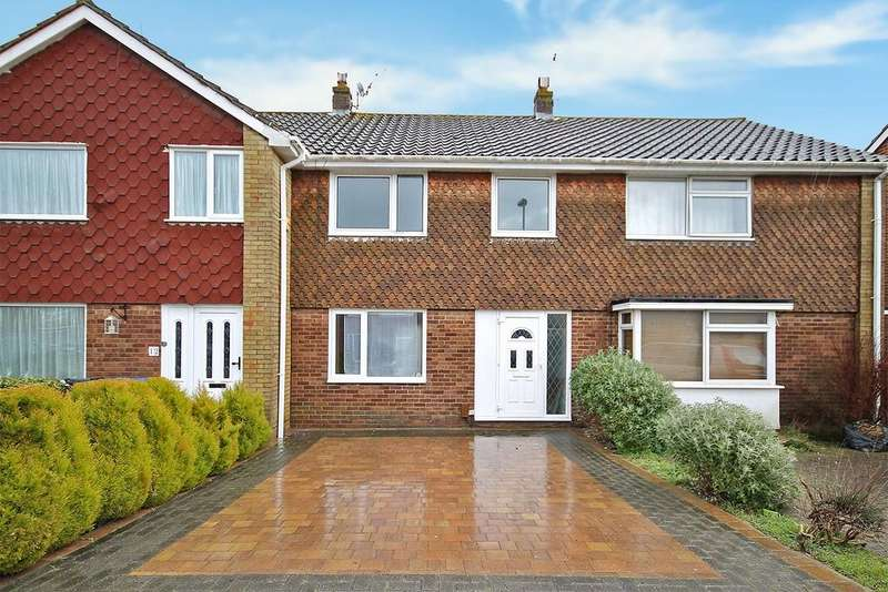 3 Bedrooms Terraced House for sale in Dankton Gardens, Sompting BN15 0DR