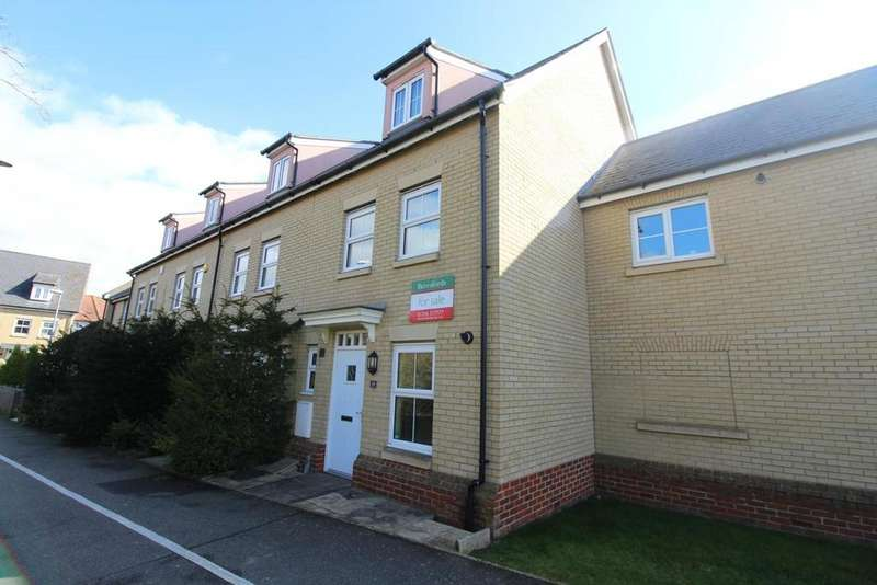 3 Bedrooms Town House for sale in Sneezum Walk, Witham, Essex, CM8