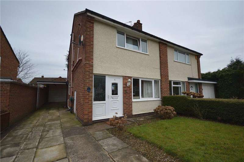 3 Bedrooms Semi Detached House for sale in Highwood Grove, Leeds