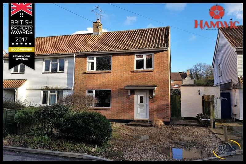 3 Bedrooms Semi Detached House for sale in Rushington Lane, Totton, Southampton SO40