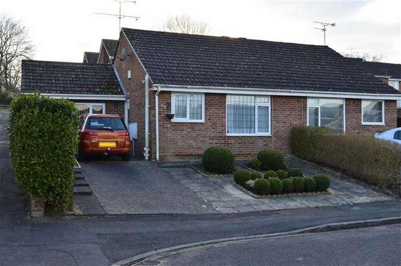 2 Bedrooms Semi Detached Bungalow for sale in Cockerell Close, Wimborne, Dorset