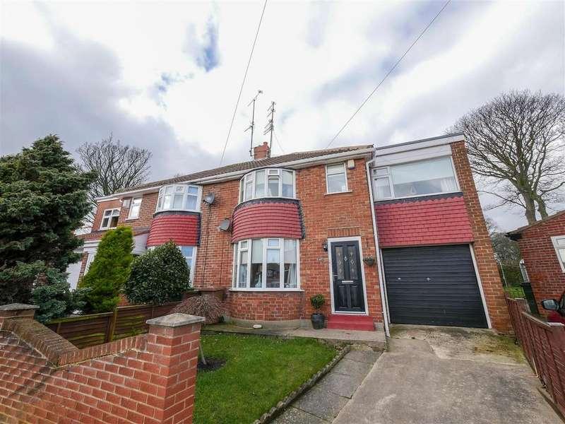 3 Bedrooms Semi Detached House for sale in Deepdene Road, Seaburn, Sunderland