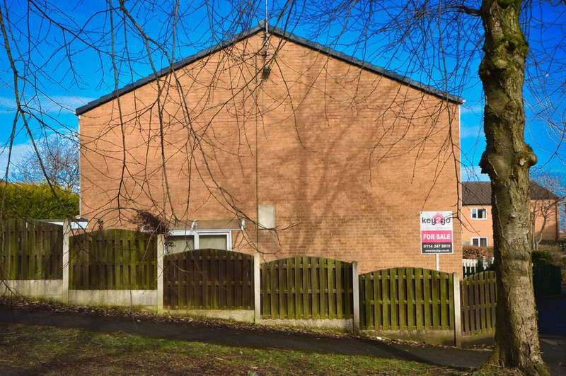 3 Bedrooms End Of Terrace House for sale in Streetfields, Halfway, Sheffield, S20