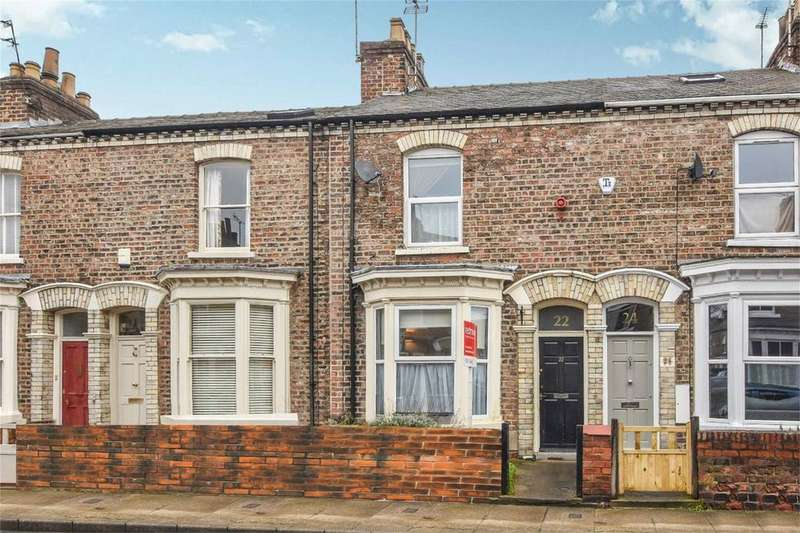 2 Bedrooms Terraced House for sale in Neville Street, The Groves, York