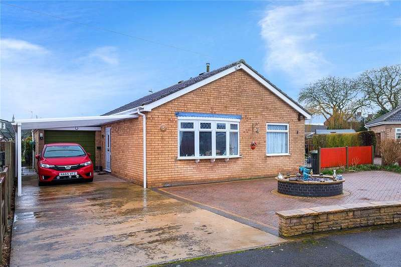 2 Bedrooms Detached Bungalow for sale in Bishops Road, Leasingham, Sleaford, Lincolnshire, NG34