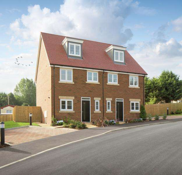 3 Bedrooms Semi Detached House for sale in Plot 52, Bayswater Fields, Headington, Oxford, Oxfordshire