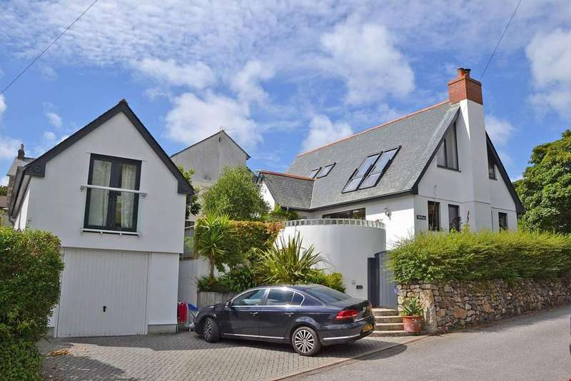 4 Bedrooms Detached House for sale in Vicarage Lane, Lelant, Nr. St Ives, West Cornwall, TR26