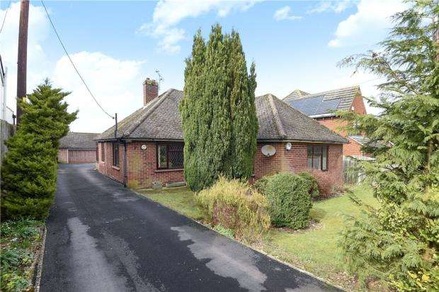 3 Bedrooms Detached Bungalow for sale in Kempshott Lane, Basingstoke, Hampshire