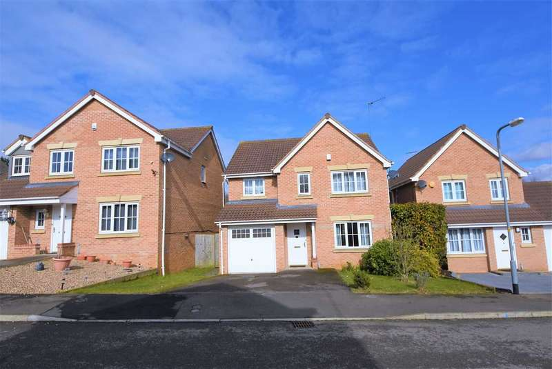 4 Bedrooms Detached House for rent in Wilkie Road, Wellingborough, NN8 4SZ