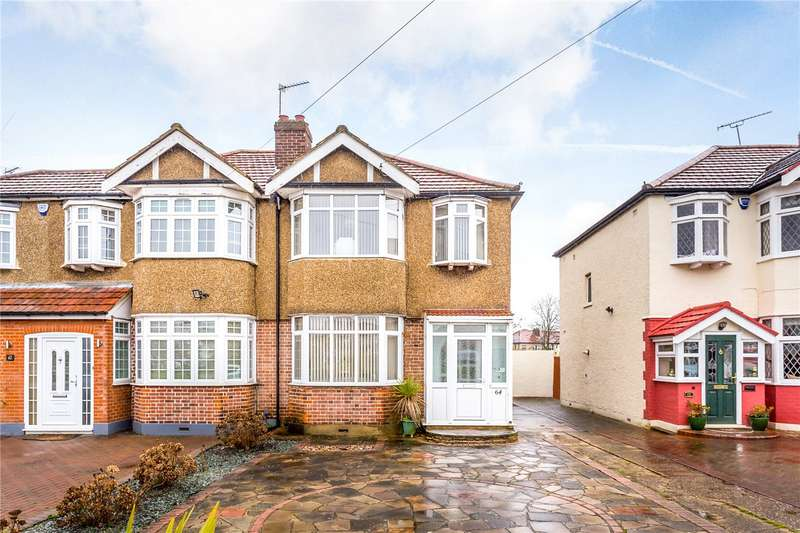 3 Bedrooms Semi Detached House for sale in Willow Road, Enfield, EN1