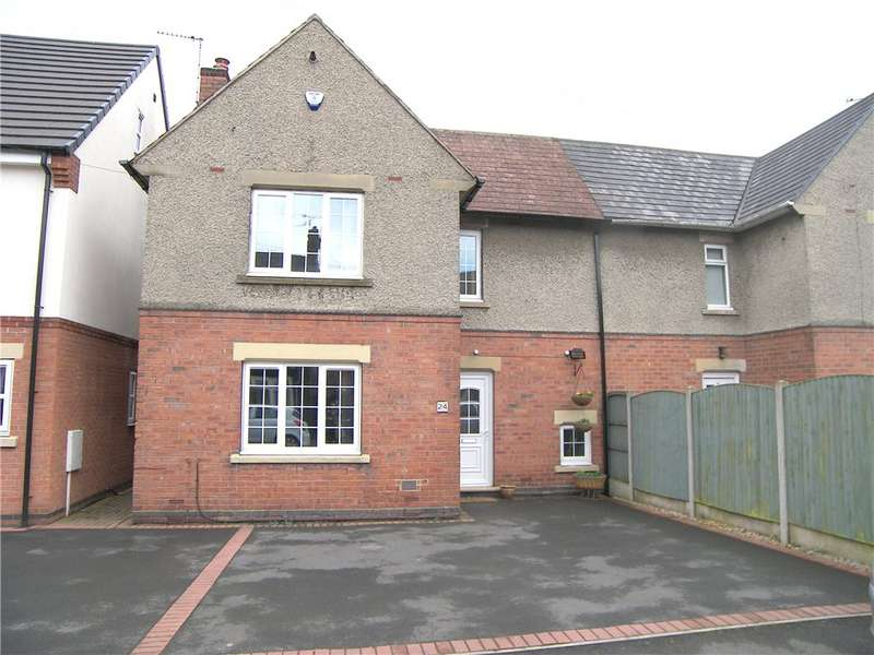 2 Bedrooms Semi Detached House for sale in Oakland Street, Alfreton, Derbyshire, DE55