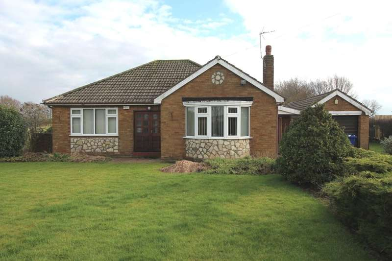 2 Bedrooms Detached Bungalow for sale in West Lane, Sykehouse, Goole, DN14
