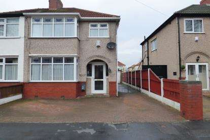 3 Bedrooms Semi Detached House for sale in Hazel Grove, Crosby, Liverpool, Merseyside, L23