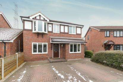 4 Bedrooms Detached House for sale in Tewkesbury Close, Great Sutton, Ellesmere Port, CH66