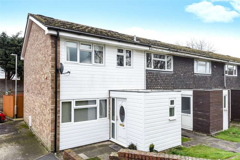 3 Bedrooms End Of Terrace House for sale in Whitewell Close, Arborfield Cross, Reading, Berkshire, RG2