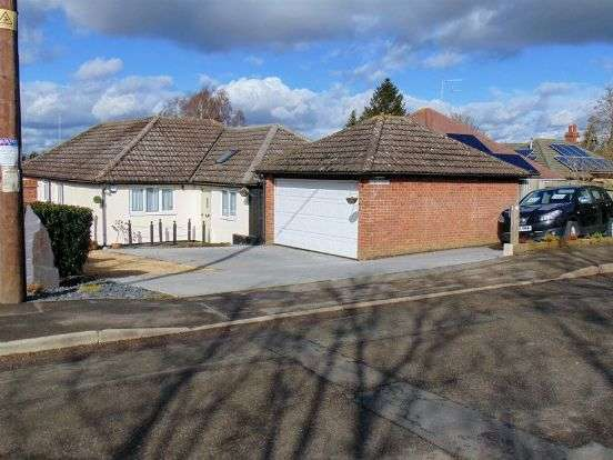 4 Bedrooms Detached Bungalow for sale in Boughton Road, Moulton, Northampton NN3 7SJ