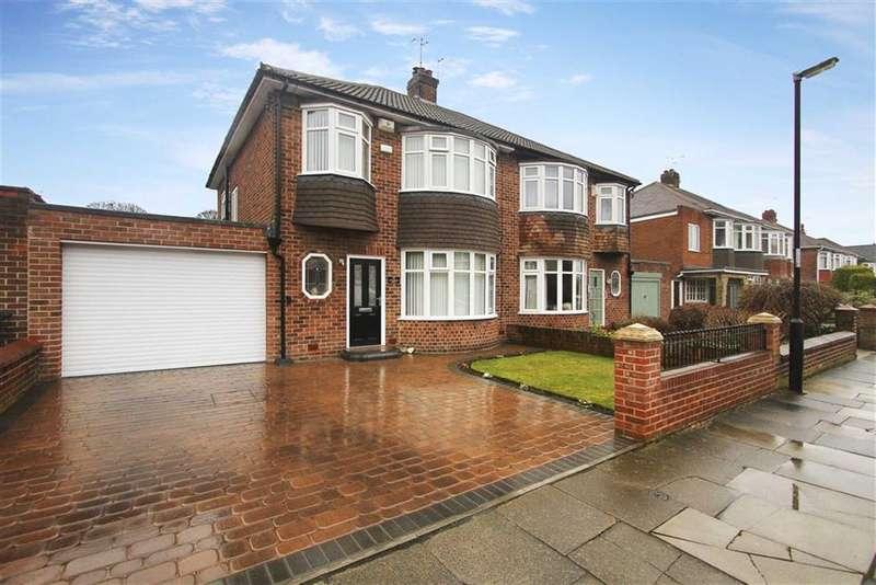 3 Bedrooms Semi Detached House for sale in Otterburn Road, Preston Village, North Shields