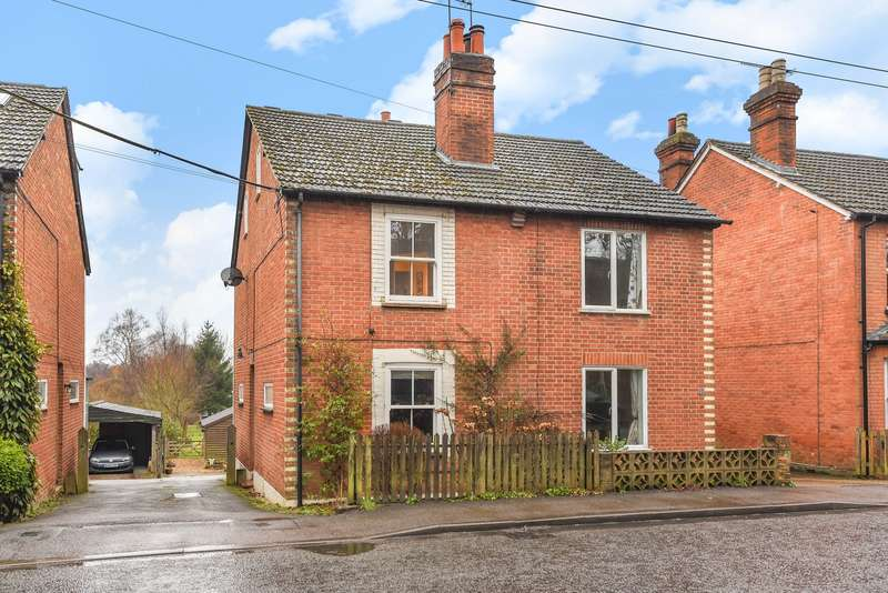4 Bedrooms Semi Detached House for sale in Pirbright