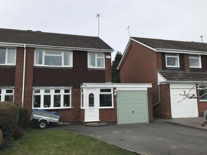 3 Bedrooms Semi Detached House for sale in Willow Drive, Cheswick Green, Solihull, B90 4HW