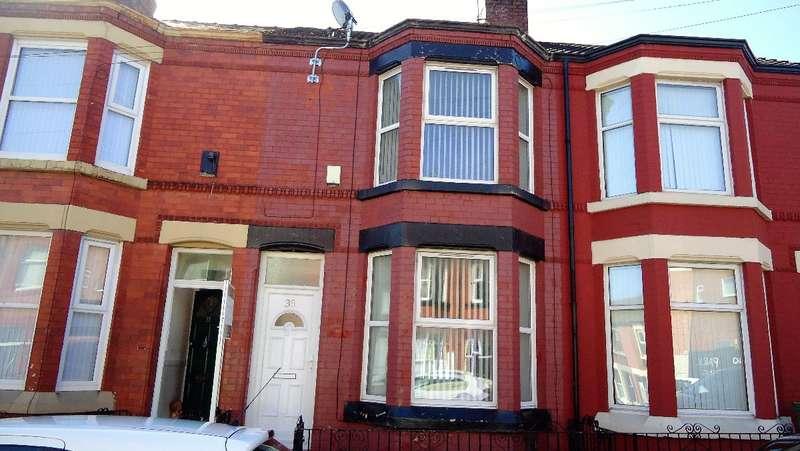 3 Bedrooms Terraced House for rent in Harcourt Street, Birkenhead