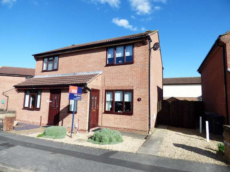 2 Bedrooms Semi Detached House for sale in Somerset Drive, Westbury