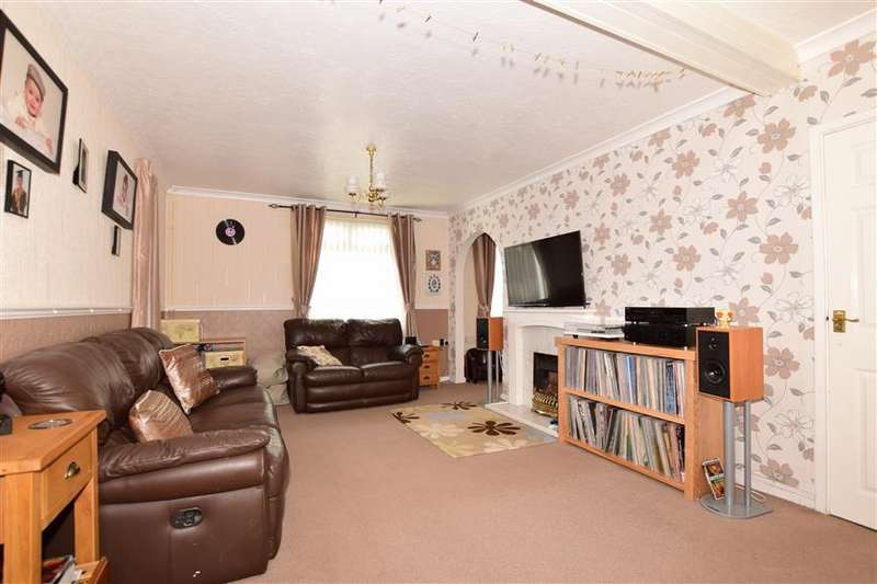3 Bedrooms Semi Detached House for sale in Chaucer Crescent, Dover, Kent