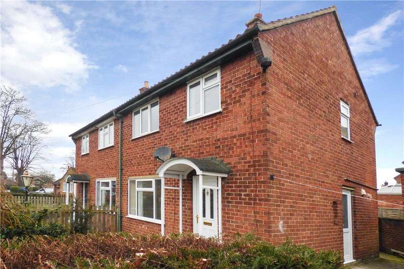 3 Bedrooms Semi Detached House for rent in Grove Lane, Ripon, North Yorkshire