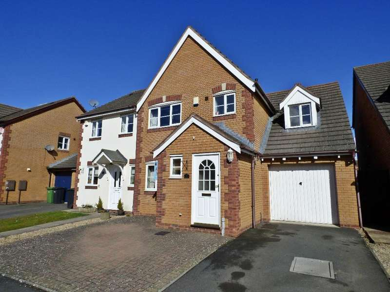 4 Bedrooms Semi Detached House for sale in Windsor Road, Lower Bullingham, Hereford