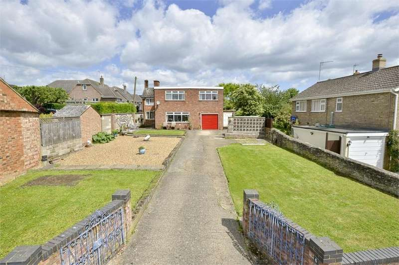 4 Bedrooms Detached House for sale in Queen Eleanor Road, Geddington, Northamptonshire