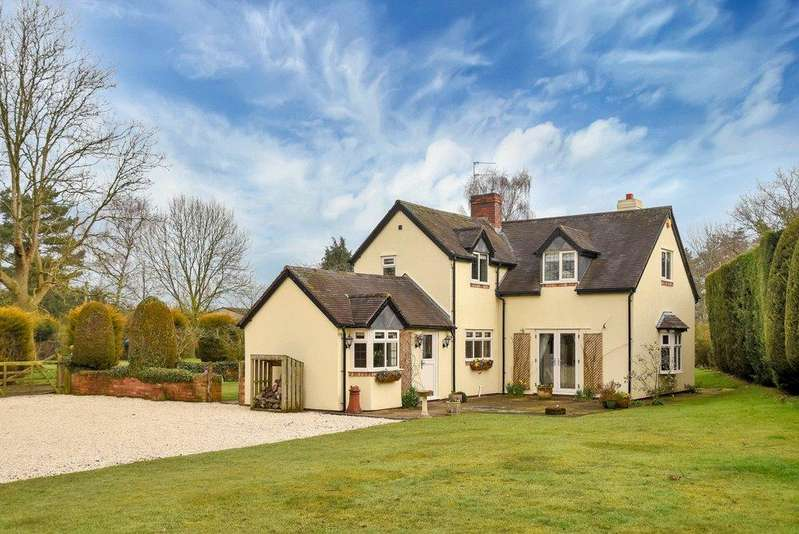 4 Bedrooms Detached House for sale in Wheaton Aston, Stafford, Staffordshire