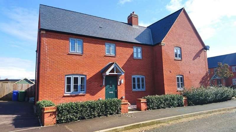 3 Bedrooms Semi Detached House for sale in Juliet Drive, Brackley
