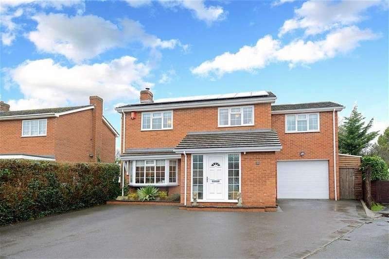 4 Bedrooms Detached House for sale in Birch Drive, Hanwood, Shrewsbury, Shropshire
