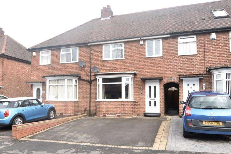 3 Bedrooms Terraced House for sale in Woodnorton Road, Rowley Regis