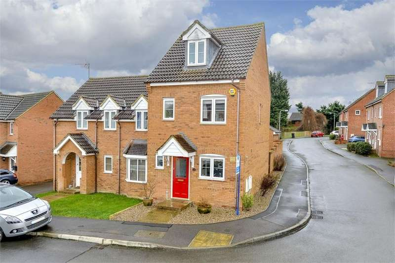 3 Bedrooms Semi Detached House for sale in Dairy Way, Irthlingborough, Northamptonshire